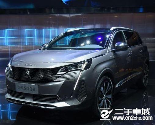全新东风标致5008新车亮相 配备1.6T/1.8T涡轮增压发动机