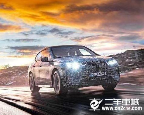 宝马ix M效果图 新款车型预计明年量产