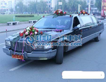 二手加长凯迪拉克价格 5.3万1995年 吉林省二手加长凯迪拉高清图片