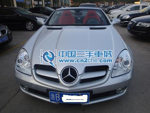 二手奔驰slk350 价格 65.8万2009年 浙江二手奔驰slk350 宁高清图片