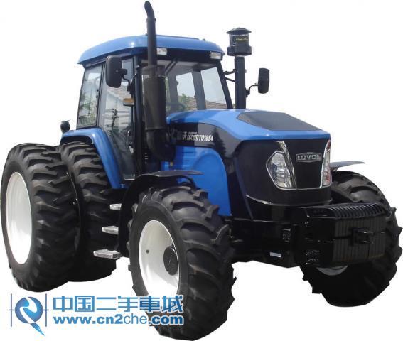 二手福田雷沃1354拖拉机价格 16万2010年 黑 高清图片