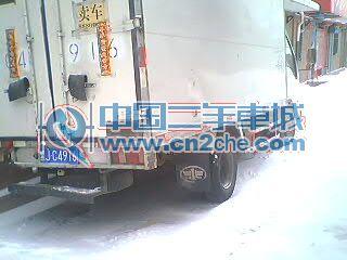 2.4万2004年 黑龙江省二手小解放箱货车 齐齐哈尔二手小解放箱货车 高清图片