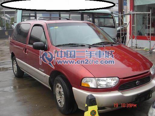 尼桑贵士商务车 价格 9.6万2002年浙江省宁波高清图片