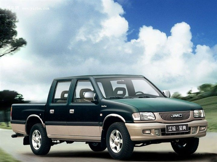 江铃 宝典 2007款 宝典三菱动力版 汽油 4×4 超豪华型