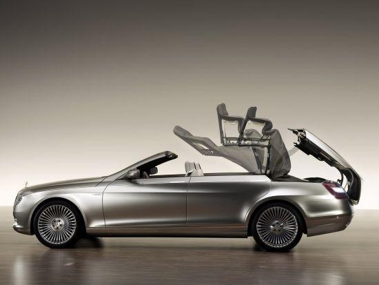 新一代奔驰S级双门Coupe版和敞篷版齐上阵