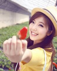 青春于清纯的碰撞 草莓美女你爱?