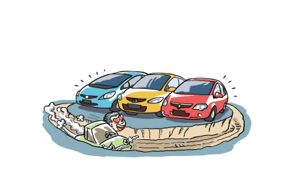 京城二手车以废换新趋势明显 呈现热销