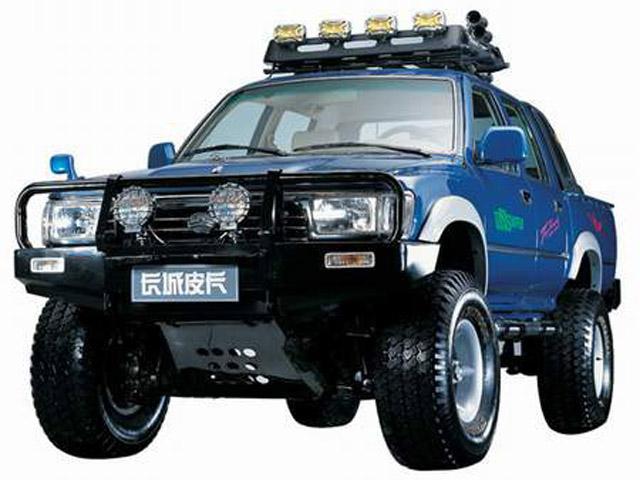 长城 大脚兽 2003款 四驱型