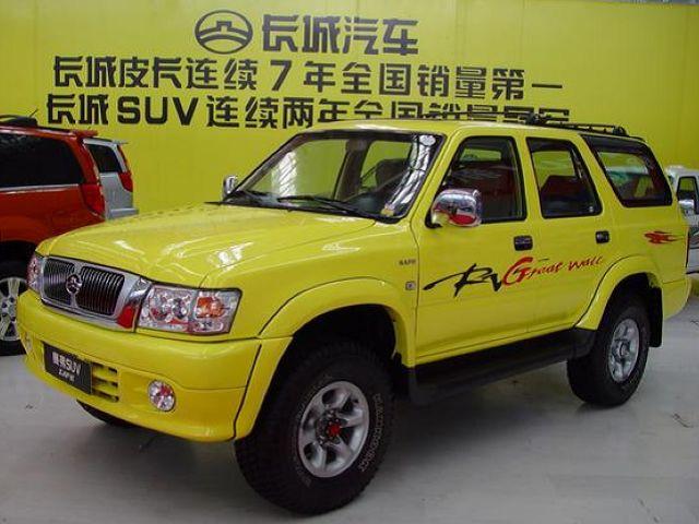 长城 赛弗SUV 2002款 CC6450 四驱豪华型
