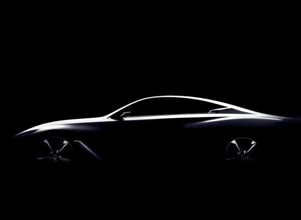 英菲尼迪全新Q60概念车预告图曝光   采用双门设计