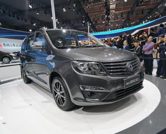 东风风行S500定位7座MPV   S500上海车展发布