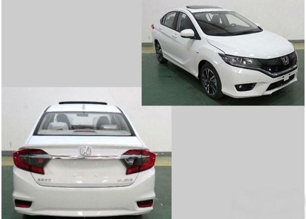 东风本田新三厢车预售价    本田新三厢车搭1.5L动力
