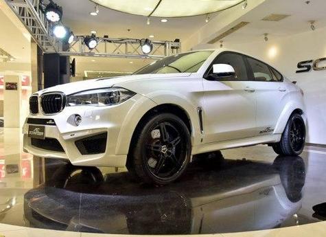 外观和动力改装 全球首发宝马X6 M的改装车