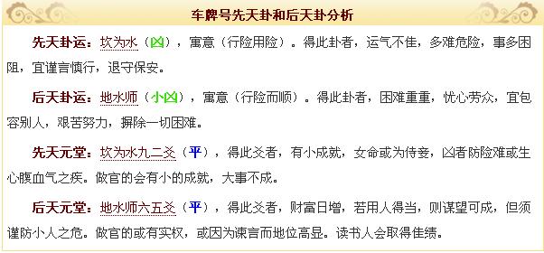所有北京88888车牌号码测吉凶结果 见人不能上的