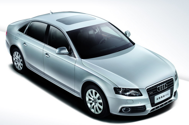 新奥迪A4L的2.0T即将上市 参考价格34.5-42万