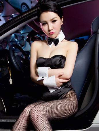 兔女郎美女车模 丝袜美腿性感无法阻挡