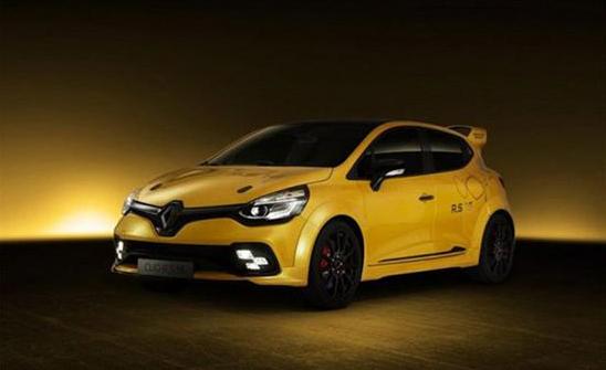 雷诺Clio R.S. 16概念车的量产版将巴黎车展首发 约售29.87万