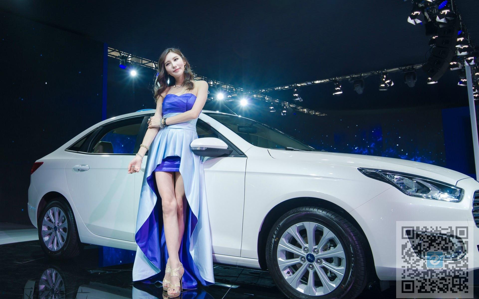 各色车展美女车模展示 你喜欢怎么样的风格