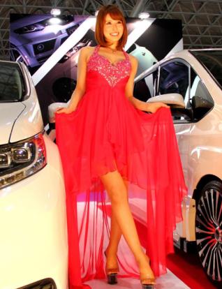 车展上美女车模是亮点 车展美女各显神通