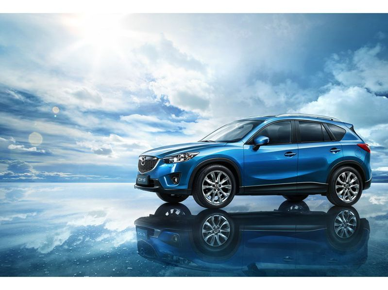 典雅運動款SUV 全新長安馬自達CX 5高清圖片