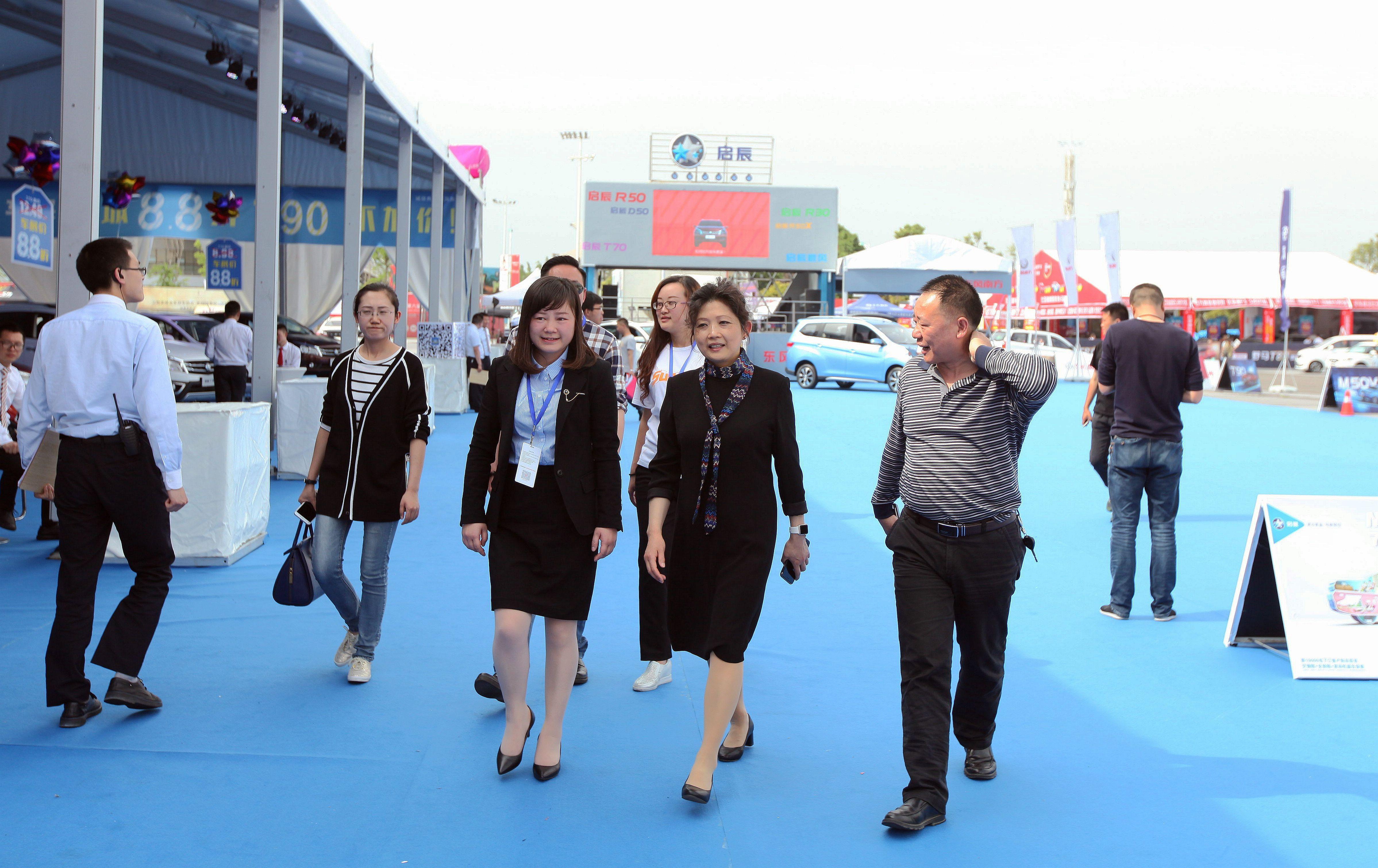 2017(第六届)绵阳之春国际车展今日盛大开幕