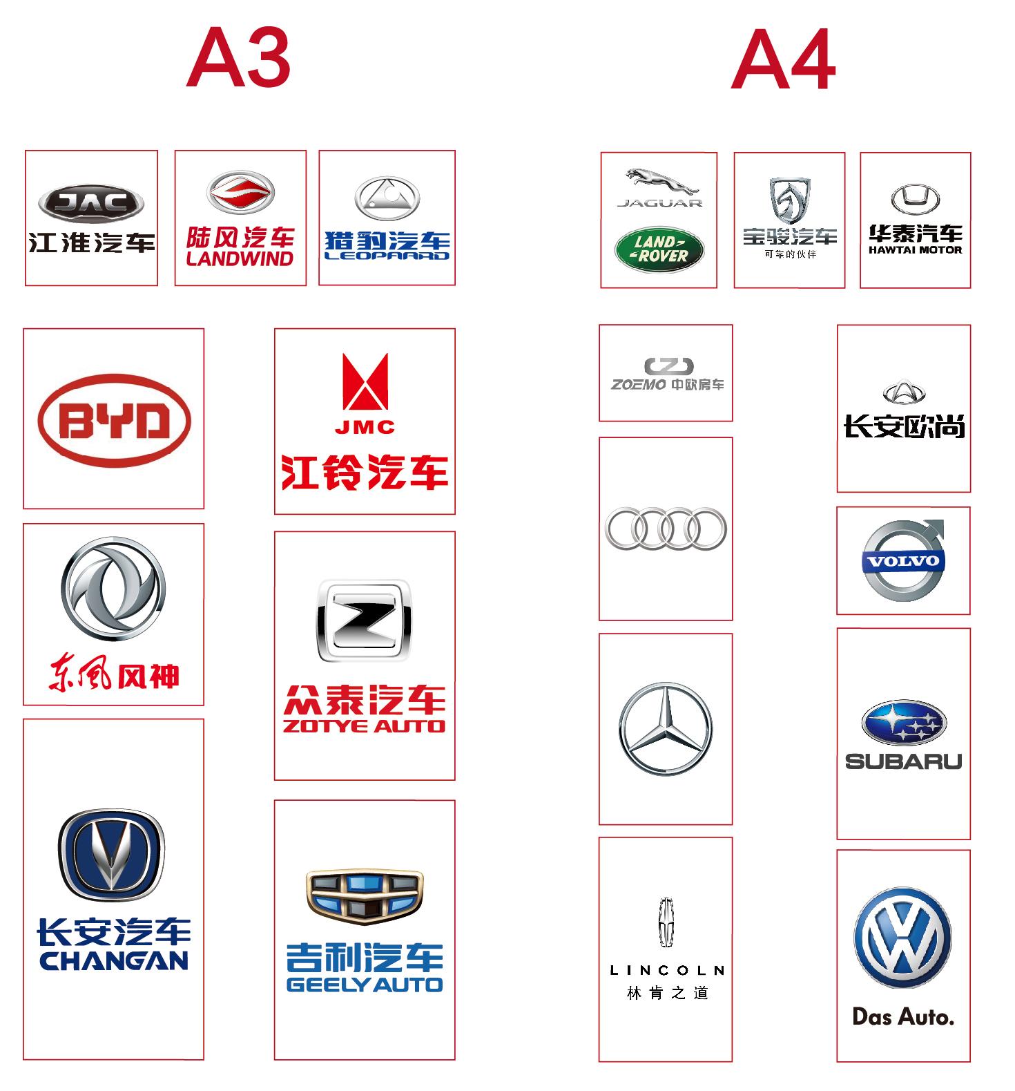 华中国际车展展位图大曝光! 武汉车展展位图新鲜出炉!