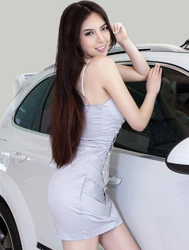 东方美女车模 妖娆妩媚性感迷人