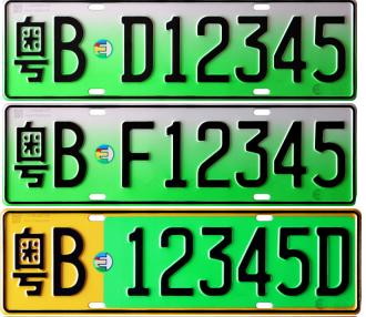 2018年新能源车专用号牌施行 申请条件和过程介绍