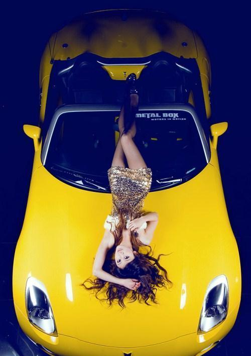 大片即视感   性感美女车模与车相伴