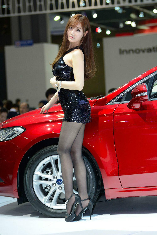 韩国性感甜美车模崔瑟琪  第二期