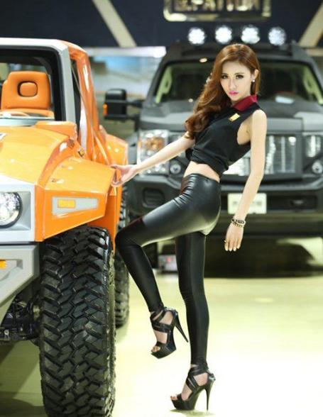 北京车展性感气质美女车模