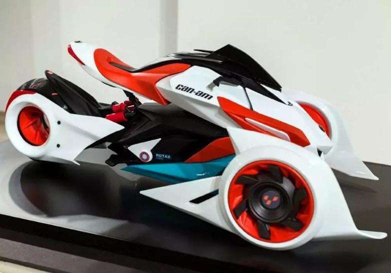 时尚潮流新款摩托车Can-Am 夺人眼球的设计