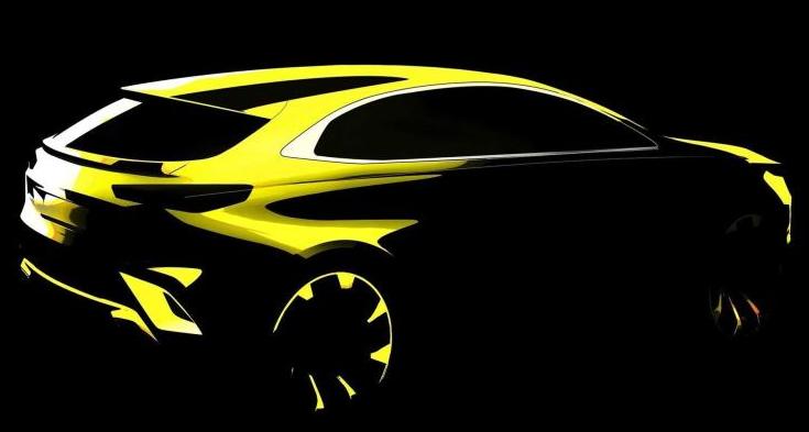 起亚Ceed新车型预告图  日内瓦车展亮相
