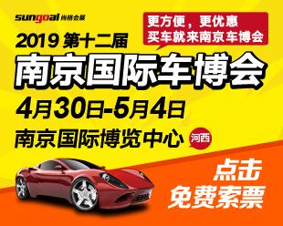 2019第十二届(南京)国际汽车博览会