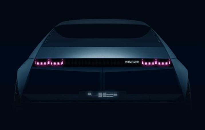 将法兰克福车展亮相   现代全新电动概念车预告