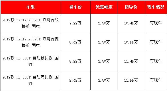 2019款科鲁泽春节促销 4款车足降价2.5万元还有礼包