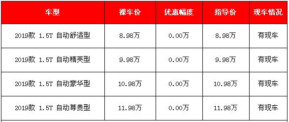 2019款比亚迪宋Pro购车信息 4款车型充足最高11.98万元