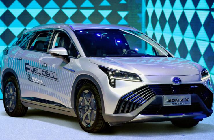 广汽氢能源车