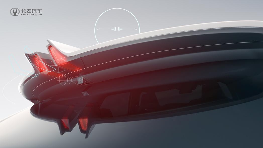 几点细节吊足胃口,长安高端序列UNI全新车型期待指数持续上扬