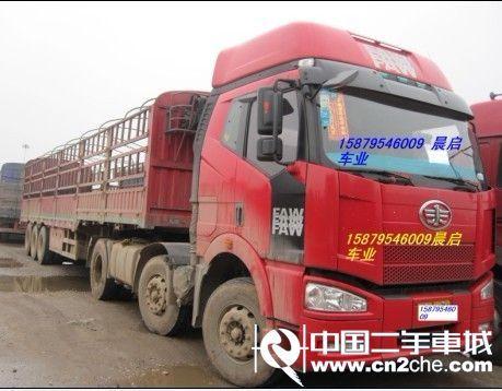 江西宜春2012款一汽J6牵引车重卡350马力6X4前四后六(高顶驾驶室)二手车