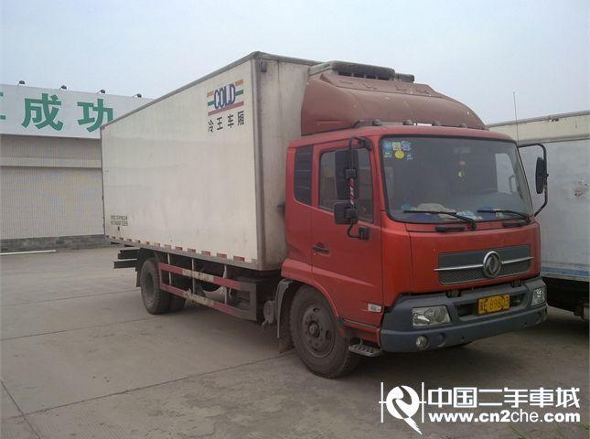 【邢台】东风天锦厢式冷藏货车 价格15.00万图片