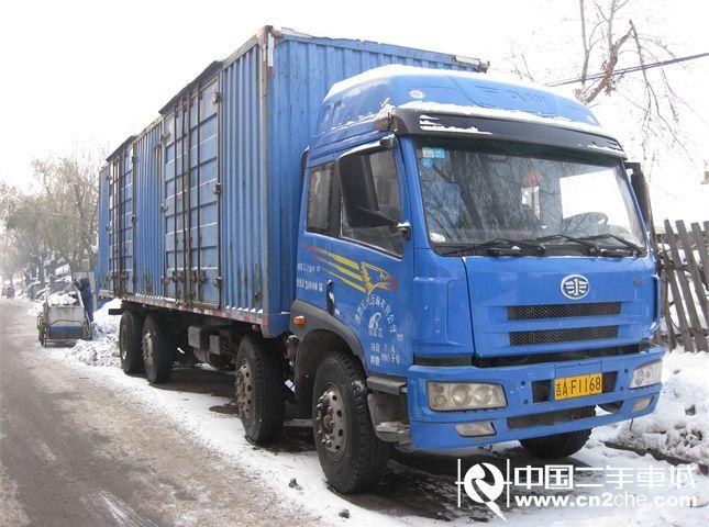 【长春】二手载货车青岛解放 悍威(j5m) 重卡 240马力 6x4 前四后六