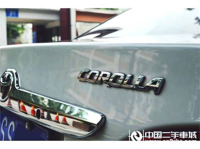 【成都】2011款二手一汽丰田 卡罗拉 1.6l gl 4at 价格10.50万
