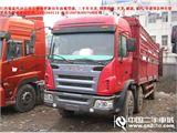 江淮 江淮格尔发L系列 载货车 重卡 220马力 6X2 前二后六  仓栅  566  2