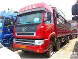 青岛解放 新大威 载货车 重卡 290马力 8X4 前四后八  厢式