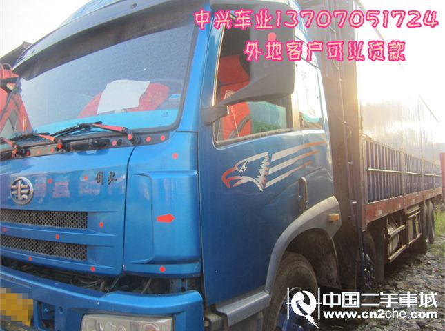【宜春】二手载货车青岛解放 悍威(j5m) 重卡 260马力 6x4 前四后六