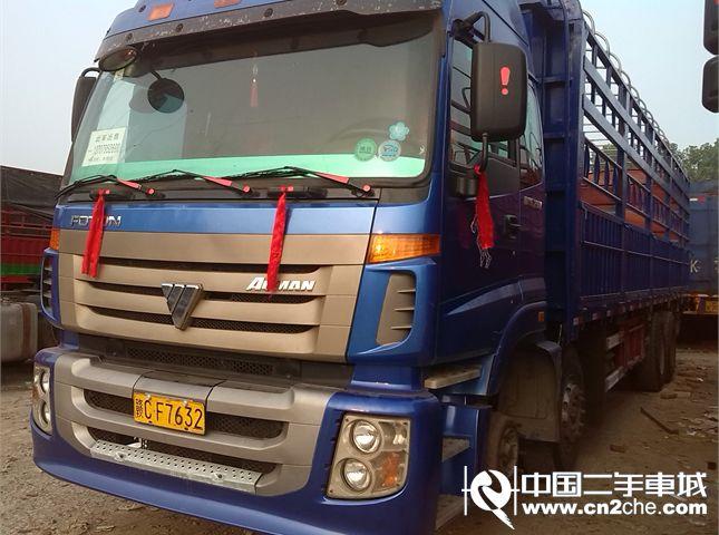 【宜春】福田 欧曼 etx 6系重卡 290马力 8x4 栏板载货车(bj1313vppjj