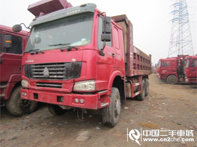 中国重汽 豪沃 自卸车 HOWO重卡 336马力 8X4 自卸车(ZZ3317N4867C1L)