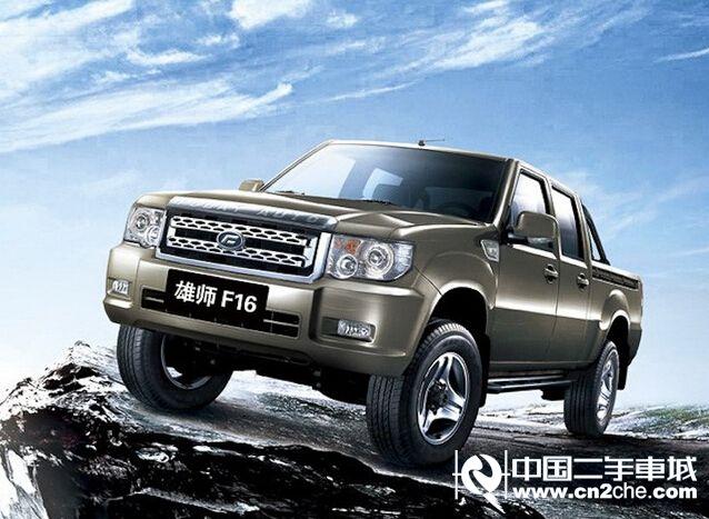 福迪 福迪雄狮皮卡 2011款 2.4L 手动 汽油 NHQ1029LF9