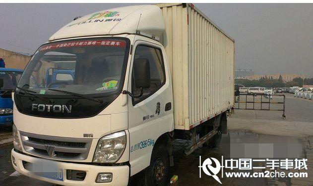 福田 奥铃  CTX 130马力 厢式轻卡(BJ5041XXY-DB)